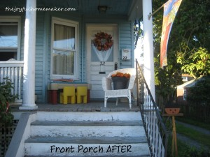after porch