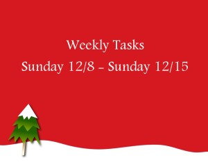 merry-weekly tasks